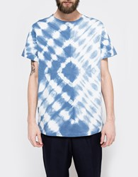 The Hill Side Hand Dyed Murakumo Shibori Tee Indigo