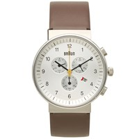 Braun Bn0035 Chronograph Watch Brown