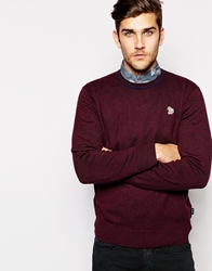 Paul Smith Jeans Jumper With Zebra Logo In Crew Neck