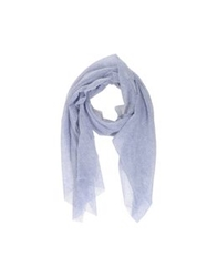 U Ni Ty Oblong Scarves Blue