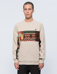 Staple Patchwork Crewneck Sweatshirt