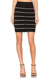 A.L.C. Bryce Skirt Black And White