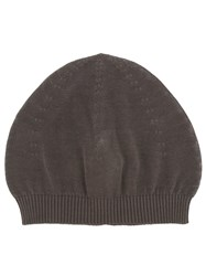 Rick Owens Knitted Beanie Brown