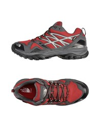 The North Face Footwear Low Tops And Sneakers Maroon