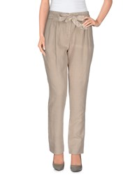 Gold Case Trousers Casual Trousers Women Khaki