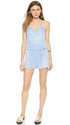 Blank The Denim Romper Bleached
