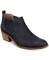 Tommy Hilfiger Ripley Ankle Booties Women's Shoes Black