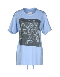 The Editor T Shirts Azure