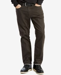 Levi's 541 Athletic Fit Jeans Brown Stucco