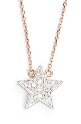 Women's Dana Rebecca Designs 'Julianne Himiko' Diamond Star Pendant Necklace