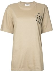 G.V.G.V.Flat Printed T Shirt Women Cotton One Size Nude Neutrals