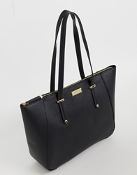 Carvela Celeste Winged Tote In Black