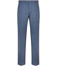 Austin Reed Blue Red Collection Two Ply Trousers
