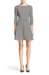 Women's Kate Spade New York Stripe Fit And Flare Dress