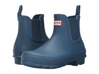 Hunter W Original Chelsea Rma Us Dark Earth Blue Women's Rain Boots
