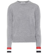 Thom Browne Merino Wool Sweater Grey