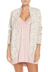 Pj Salvage Knit Lounge Cardigan White