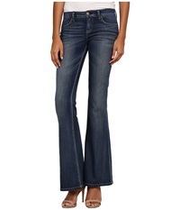 Level 99 Dahlia Fit And Flare In Derby Derby Women's Jeans Black