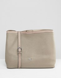 Nali Tote Bag With Chain Handle Beige