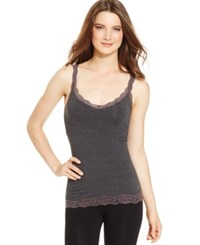Dkny Downtown Cotton Tank 731270 Charcoal