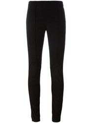 A.F.Vandevorst Paneled Leggings Black