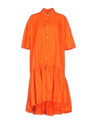 I'm Isola Marras Knee Length Dresses Orange
