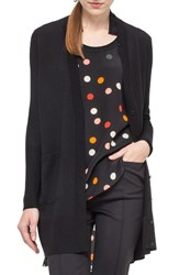 Akris Punto Women's Polka Dot Silk And Wool Cardigan