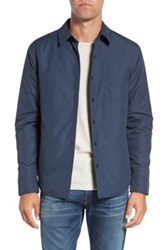 Bonobos Slim Fit Shirt Jacket Blue