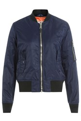 Schott Nyc Flight Jacket Blue