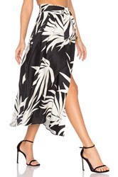 Milly Jackie Skirt Black And White