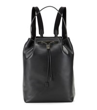 The Row Backpack 11 Leather Backpack Black