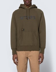 Wtaps Design Hooded Sweatshirt Olive