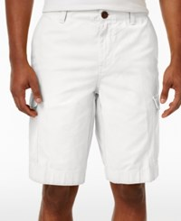 Tommy Hilfiger Men's Cargo Shorts White