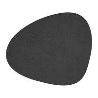 Lind Dna Hippo Curve Table Mat Black Anthracite