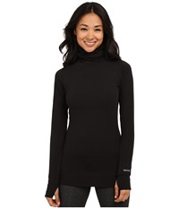 Burton Midweight Long Neck True Black 1 Women's Long Sleeve Pullover