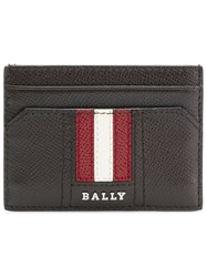 Bally Designer Logo Cardholder Brown