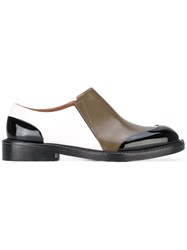 Marni Slip On Shoes Women Leather Rubber 38.5 Black