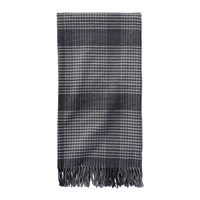 Pendleton 5Th Avenue Throw Charcoal Plaid