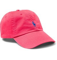 Polo Ralph Lauren Cotton Twill Baseball Cap Pink