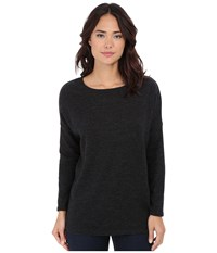 Culture Phit Madelyn Long Sleeve Sweater Charcoal Women's Sweater Gray