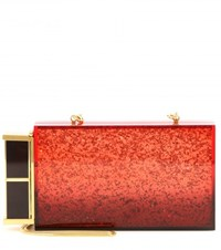 Tom Ford Lipstick Box Clutch Red