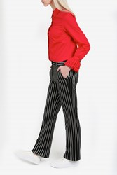 Paul And Joe Stripe Straight Trousers