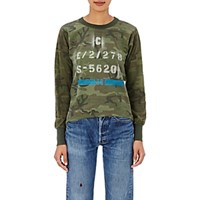 Icons Women's Long Sleeve Military T Shirt Green