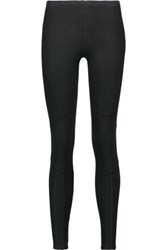 Splendid Coated Stretch Jersey Leggings Black