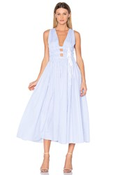 N 21 Sleeveless Maxi Dress Blue