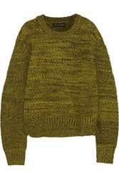 Jonathan Saunders Glenn Merino Wool Sweater Yellow