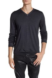 Zadig And Voltaire Ginger Merino Wool Pullover Gray