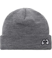 Mini Cream Monster Beanie Grey