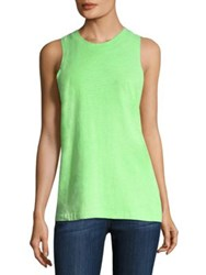 Cotton Citizen Amsterdam Boyfriend Tank Lime