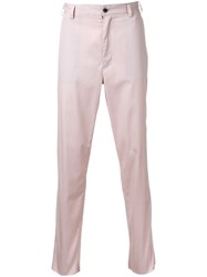 Sub Age. Slim Fit Trousers Pink Purple